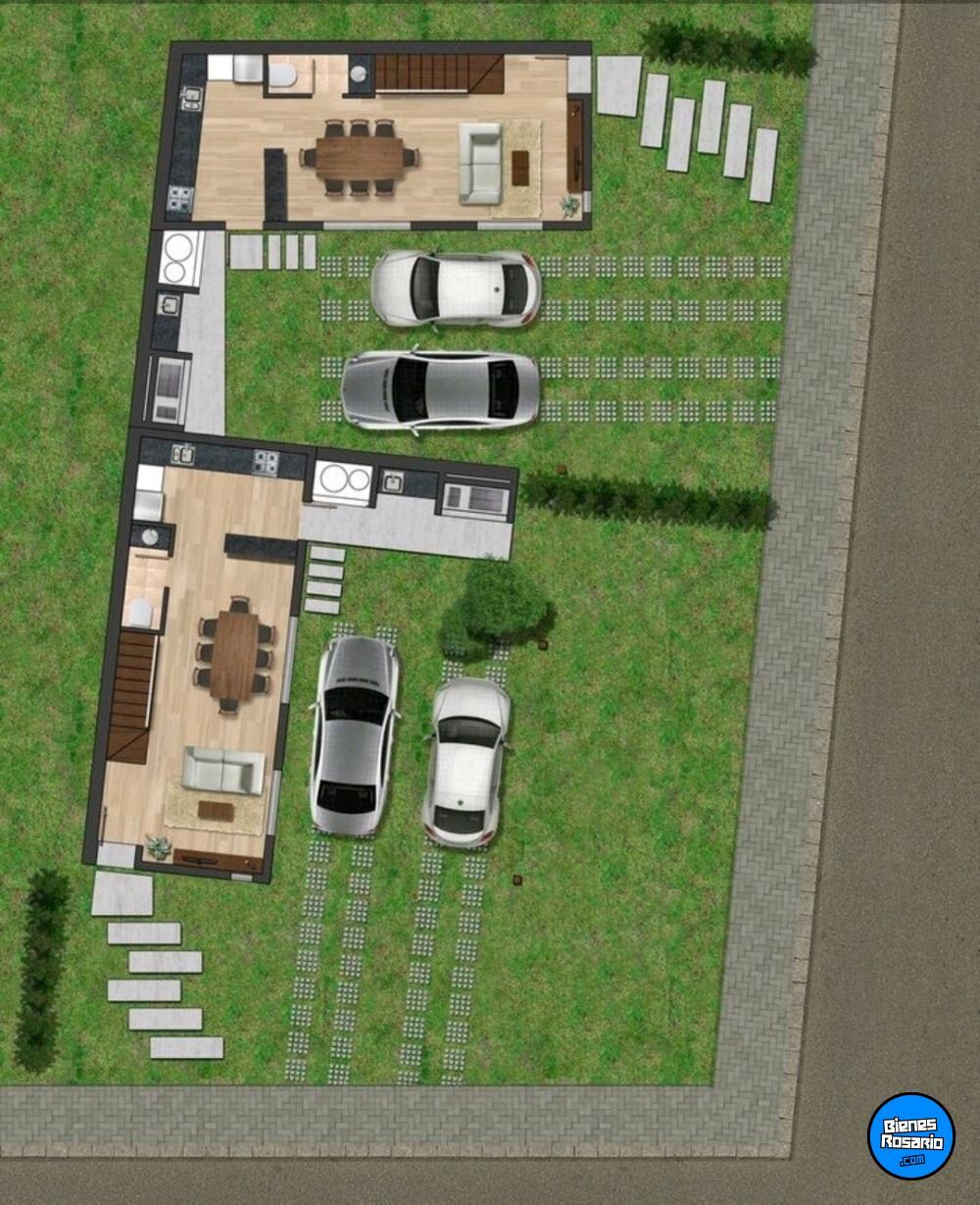 Duplex En Tierra Nueva Fisherton Casas En Venta Rosario  # Muebles Fisherton